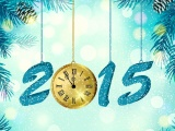 2015 Clock New Year