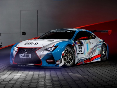 2015 Lexus RC F GT3 Concept (click to view)