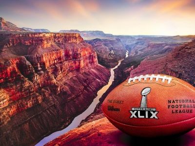 2015 Official Ball Super Bowl XLIX