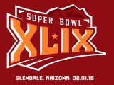 2015 Super Bowl XLIX Official Logo