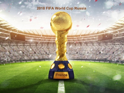 2018 Fifa Wc Russia Golden Trophy (click to view)