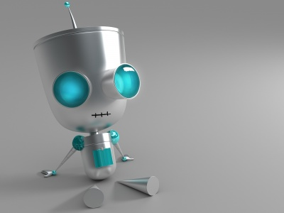 3D Robot Eyes Windows 8 (click to view)