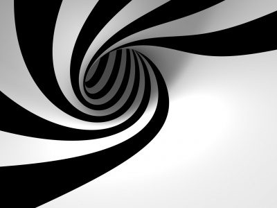 3D Vortex Black White (click to view)