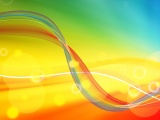 Abstract Color Spring Background