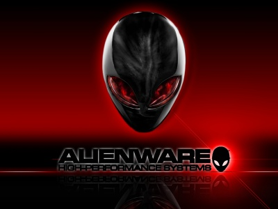 Alienware Computer Red And Black