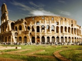 Amphitheater Colosseum Rome Italy