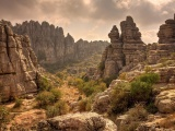 Antequera Park Spain Torcal Natural Landscapes