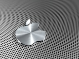 Apple Logo Stainless Steel Computer