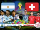 Argentina Vs Switzerland 2014 WC
