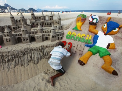 Art Sand Castles - WC Brazil 2014 (click to view)
