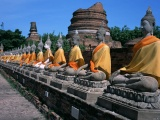 Asian Buddha Buildings