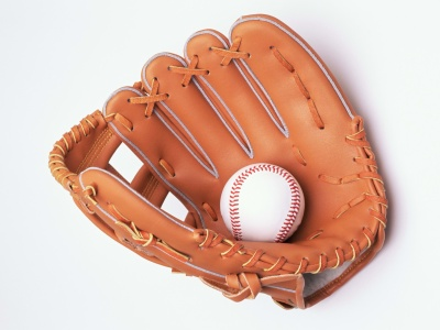 Baseball Glove And Ball (click to view)
