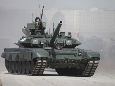 Battle Tank T-90 (click to view)