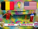 Belgium Vs United States WC 2014