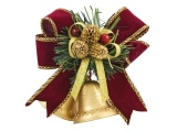 Bells Steam Ribbon Tinsel Christmas