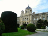 Big Ball In The Park Of Maria Theresa Vienna Austria