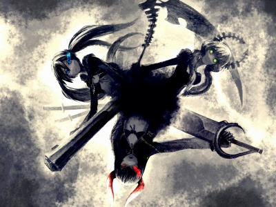 Black Rock Shooter Dead Master Black Gold Saw (click to view)