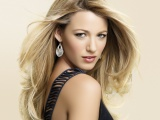Blake Lively Blonde Girl Cute Hair Shirt Hollywood Celebrity