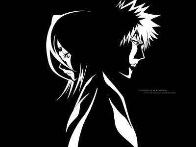 Bleach Anime Black