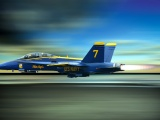 Blue Angels The High Speed Flying Fighter