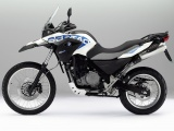 Bmw G650 Gs Sertao Motorcycles White