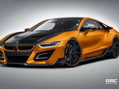 BMW I8 ITRON German Special Customs (click to view)