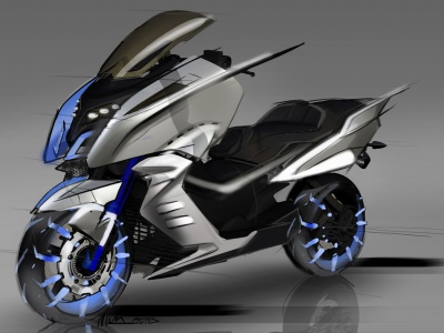 BMW Motorcycle Concept (click to view)