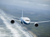 Boeing 787 Dreamliner Flying