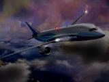 Boeing Night Flight