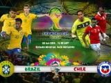 Brazil Vs Chile World Cup 2014