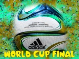 Brazuca Ball For 2014 WC Final