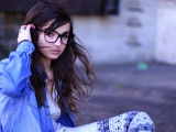 Brunettes Women Glasses