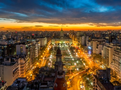 Buenos Aires Lights Argentina (click to view)