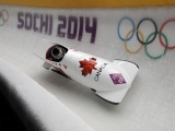 Canadian Bobsled Team In Sochi