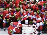 Canadian Ice Hockey Team Gold Sochi