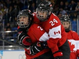 Canadian Ice Hockey Women Team Sochi