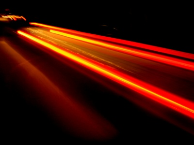 Car Light Trails (click to view)