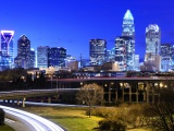 Charlotte North Carolina City Light