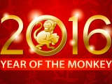 Chinese New Year 2016 Monkey