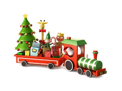 Christmas Train Toy (click to view)