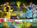 Colombia Vs Uruguay World Cup 2014