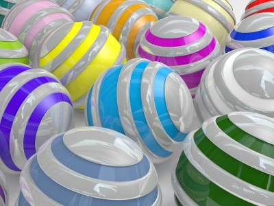 Colorful Spheres (click to view)