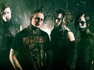 Combichrist Faces Band Image Haircuts