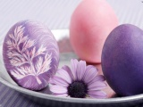 Easter Search Purple Three Image Wallpaper
