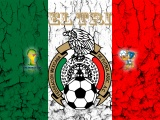 El Tri Mexico Football Crest Logo
