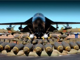 F 111 Bomber Weapons Bomb Plane