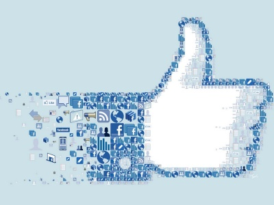 Facebook Icons Collage Logo Social Network I Like You