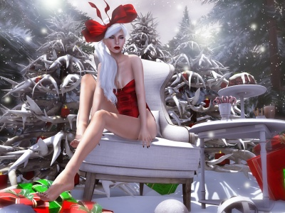 Fantasy Girl Christmas Snow Gifts (click to view)