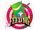 Feed Me Graphics Picture Font Beast