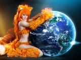 Firefox Hot Cosplay